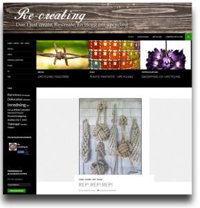 Referensobjekt: Bloggen Re-creating.se - Digitalisera, Ulrika Eriksson
